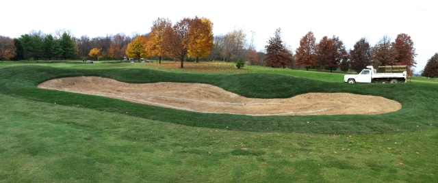 No. 15, right ride fairway bunker