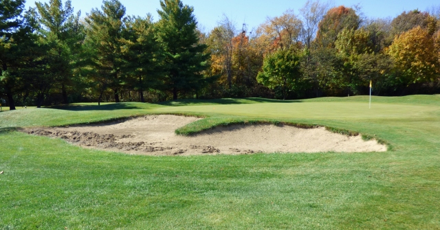 Exisitng Left Green Side Bunker No. 15