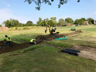 Irrigation Mainline Installation