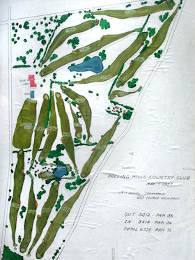 Original Routing, Rolling Hills CC