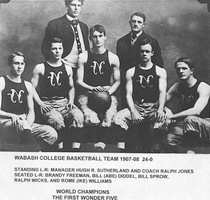Wabash Basket Ball Team